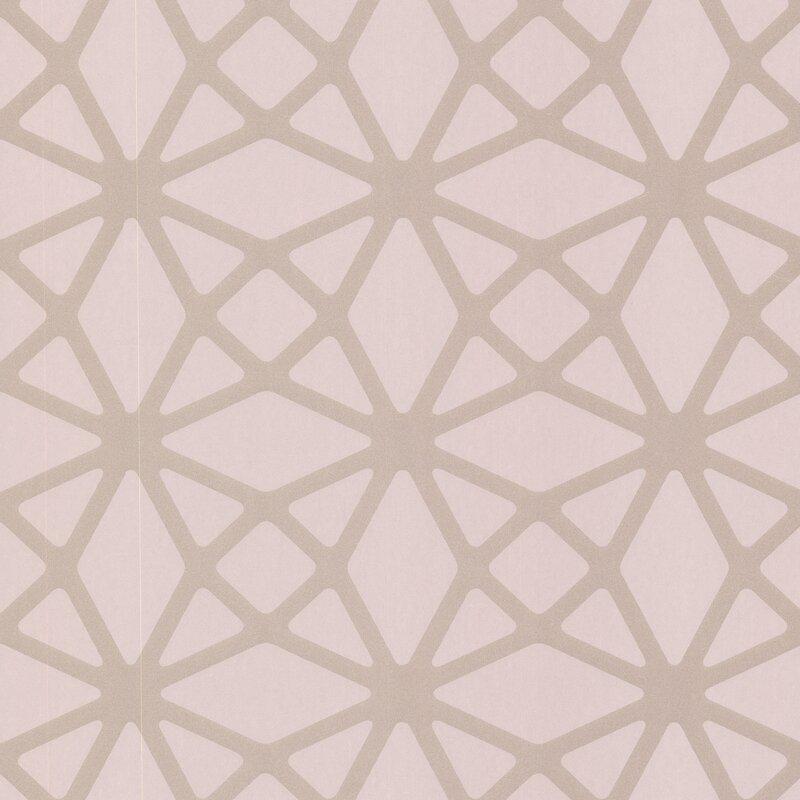 "brewster home fashions geo enterprise lattice 33' x 20.5"" 3d"