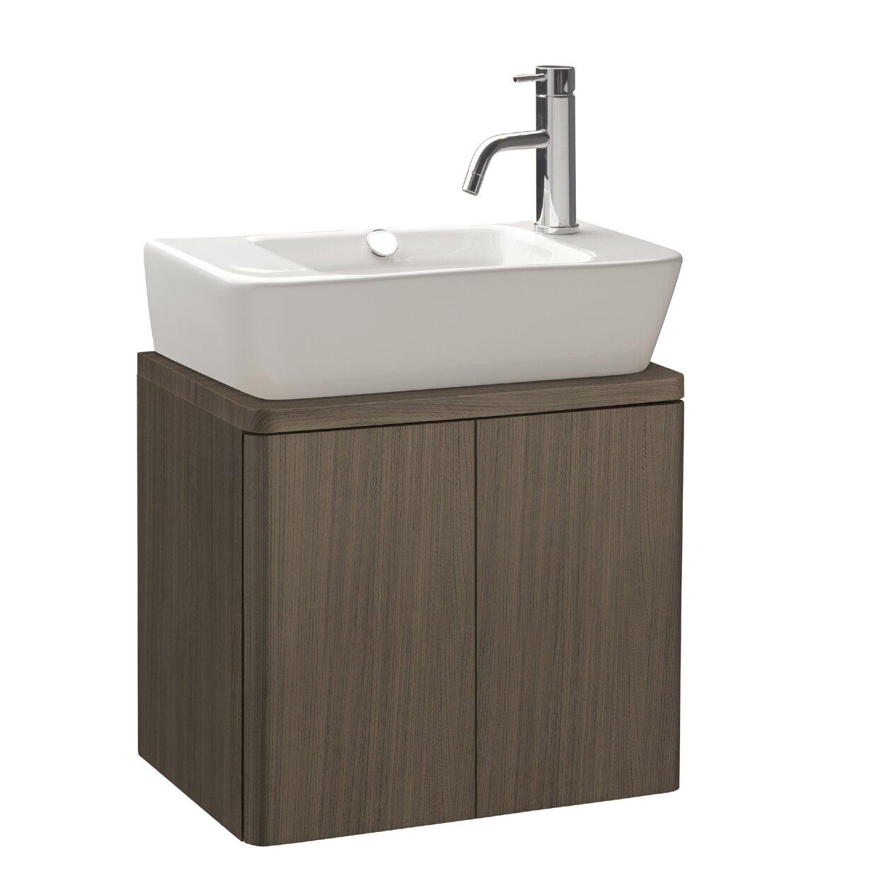 Bissonnet Emma 20 Single Cabinet Bathroom Vanity Set Reviews Wayfair