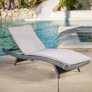 Winscombe Chaise Lounge With Cushion