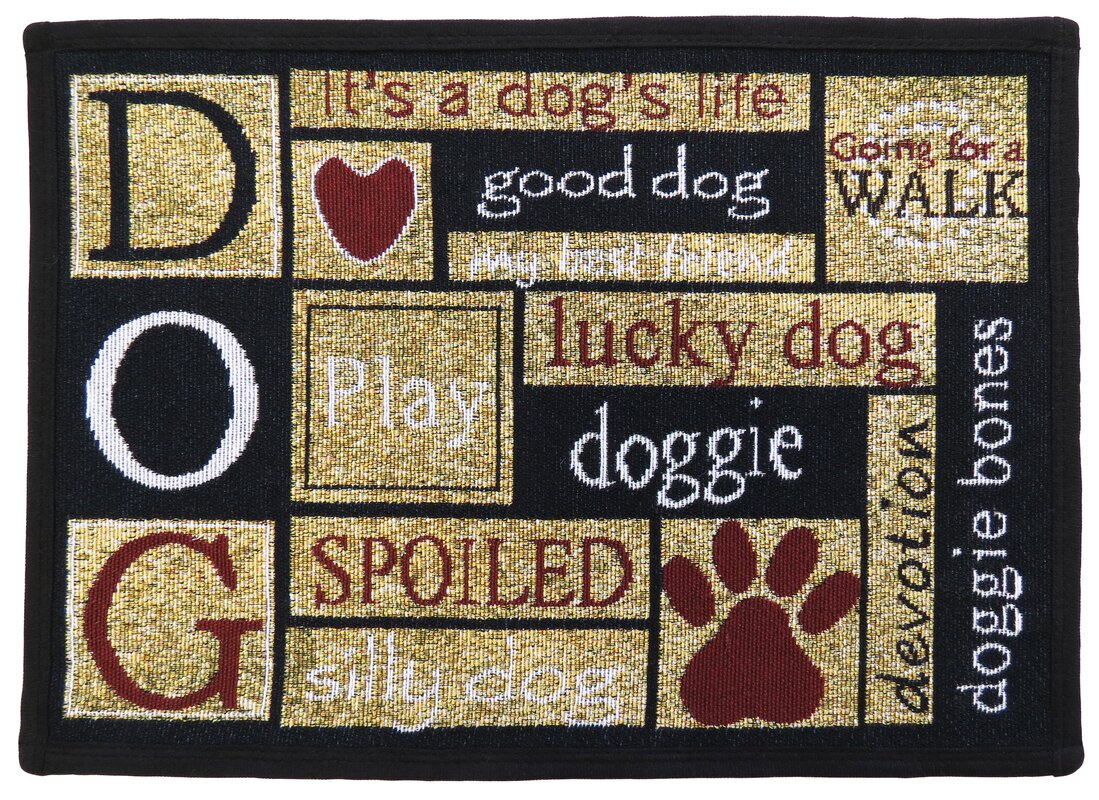 Park B Smith Ltd I Love Dogs Tapestry Area Rug Amp Reviews