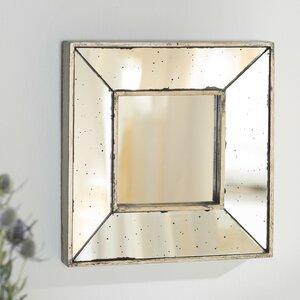 Square Wall Accent Mirror
