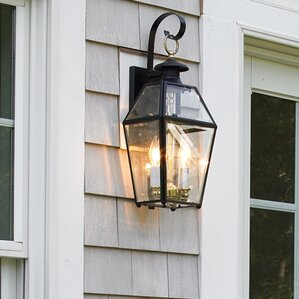 Alam 2 Light Outdoor Wall Lantern