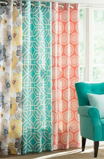 Geometric Curtains & Drapes You'll Love | Wayfair
