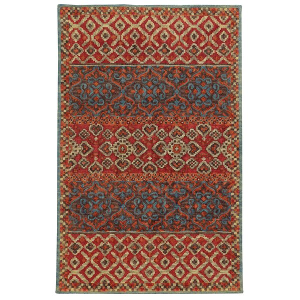 Attractive Tommy Bahama Home Tommy Bahama Jamison Red / Blue Geometric Rug U0026 Reviews |  Wayfair