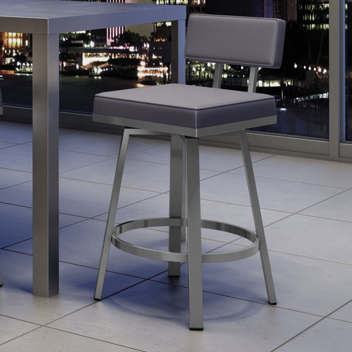 New York Style 26quot Swivel Bar Stool amp Reviews AllModern : NewYorkStyle2622SwivelBarStool from www.allmodern.com size 1160 x 1160 jpeg 148kB