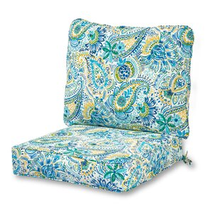 Patio Furniture Cushions Youll Love Wayfair - Turquoise outdoor furniture