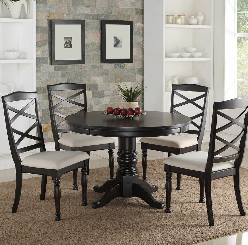 Infini Furnishings 5 Piece Dining Set & Reviews