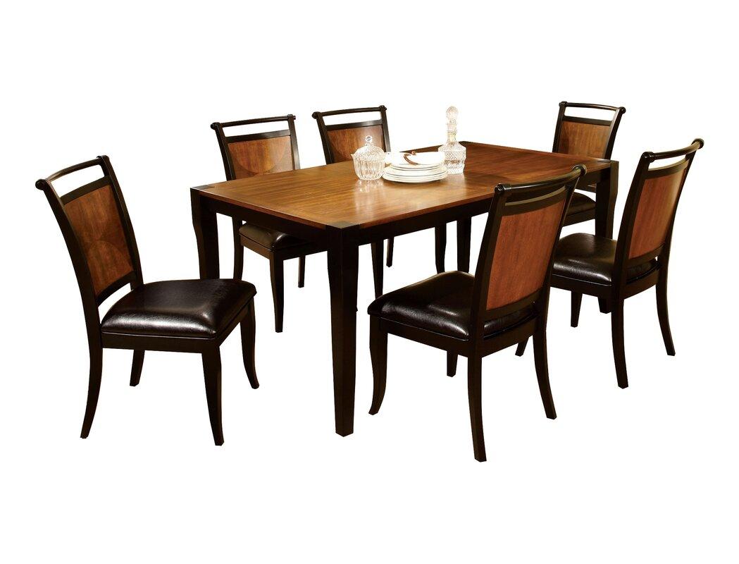 Hokku Designs Exquisite 7 Piece Dining Set Amp Reviews Wayfair
