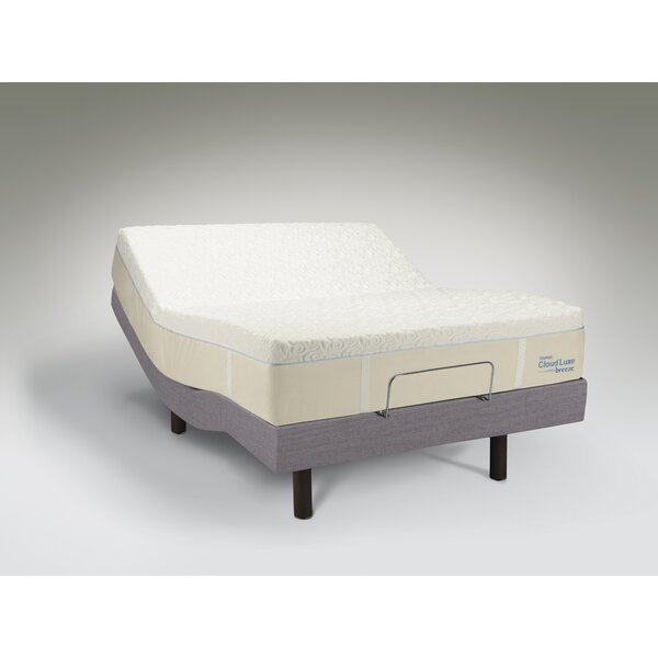 tempur-pedic tempur-ergo adjustable bed & reviews | wayfair