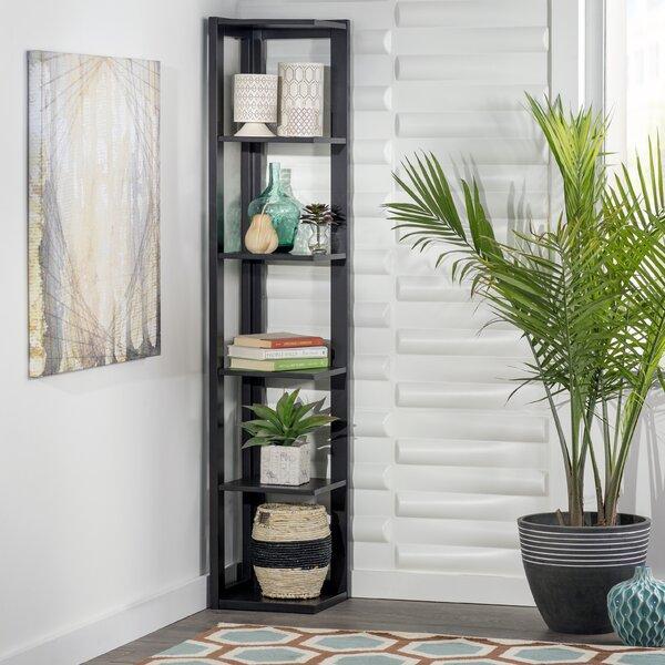 "Lola Coffee Table With Storage: Zipcode Design Lola 64"" Corner Unit Bookcase & Reviews"