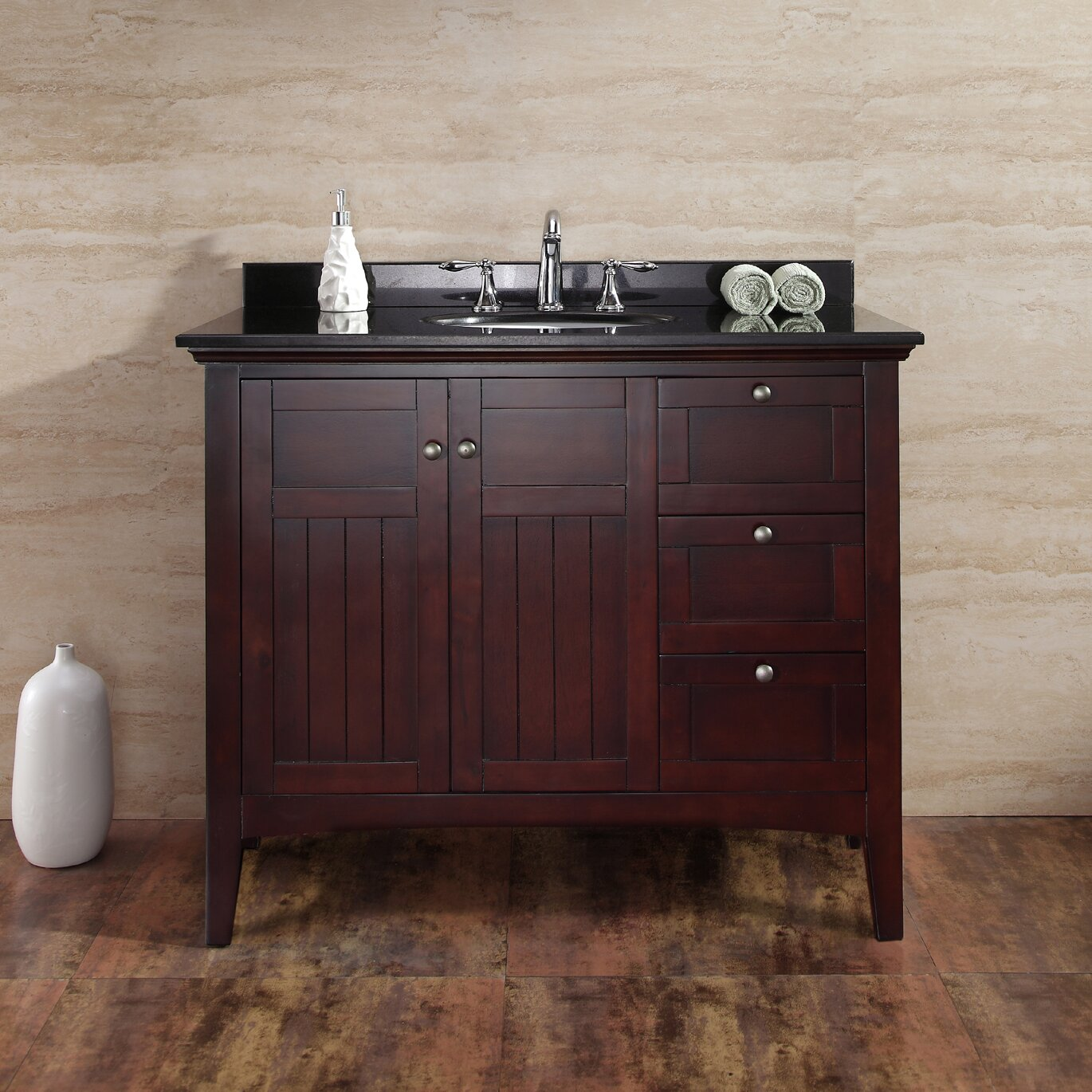 Gavin 42 Single Bathroom Vanity Set