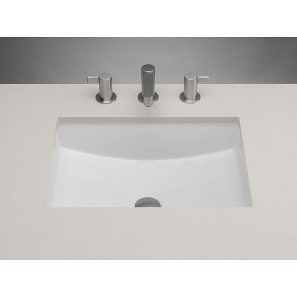Ronbow Ceramic Rectangular Undermount Bathroom Sink With Overflow Reviews Wayfair