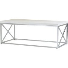 modern white coffee tables | allmodern