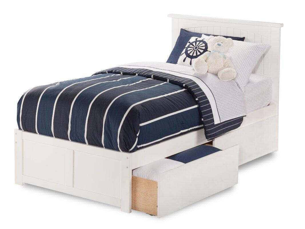 Bed frame with storage - Williamston Storage Platform Bed