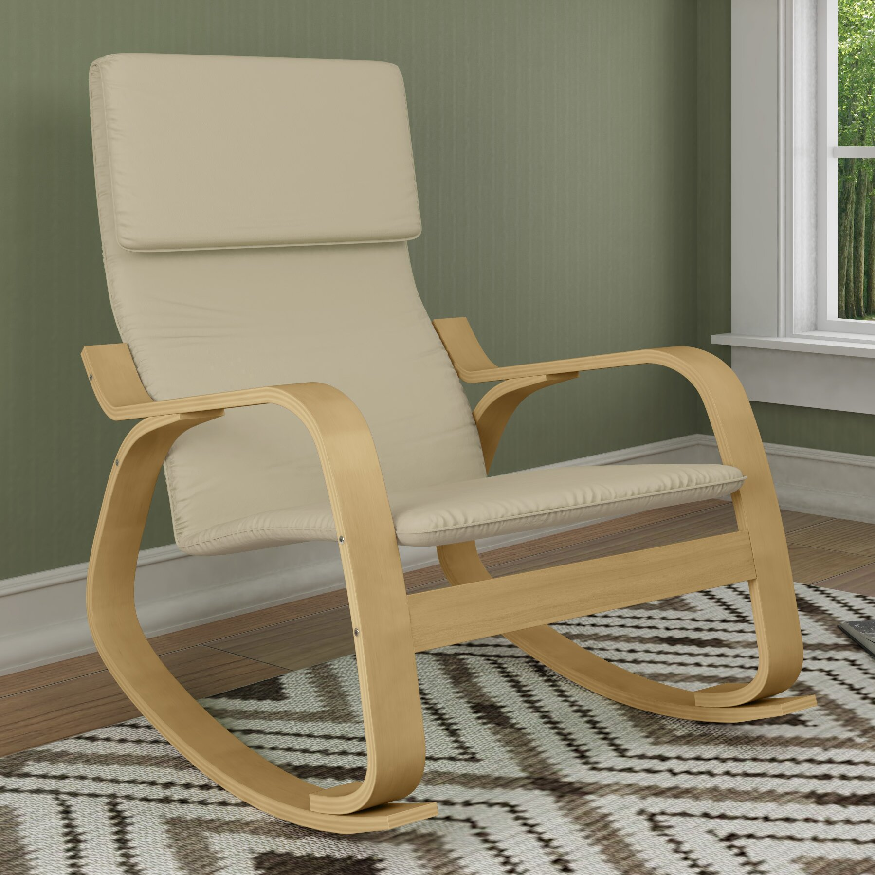Dcor Design Aquios Rocking Chair Amp Reviews Wayfair