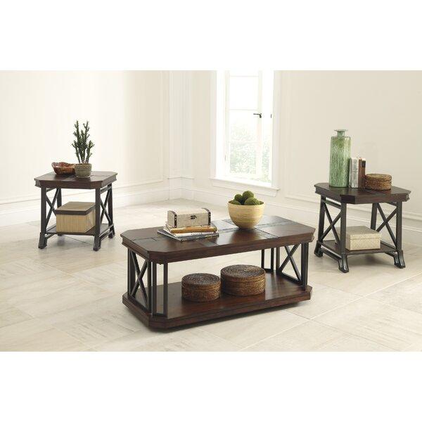 loon peak jesus 3 piece coffee table set & reviews   wayfair
