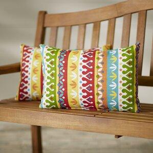 Khaldoun Outdoor Lumbar Pillow (Set Of 2)