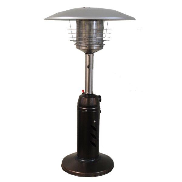 SUNHEAT Round 11,000 BTU Propane Tabletop Patio Heater | Wayfair
