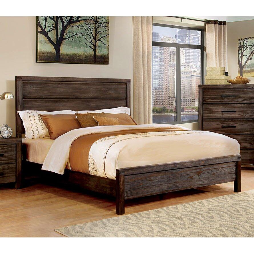 a j homes studio rexburg panel bed reviews wayfair. Black Bedroom Furniture Sets. Home Design Ideas