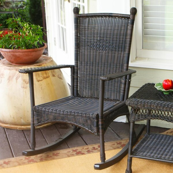 Three Posts Baden II Rocking Chair U0026 Reviews   Wayfair