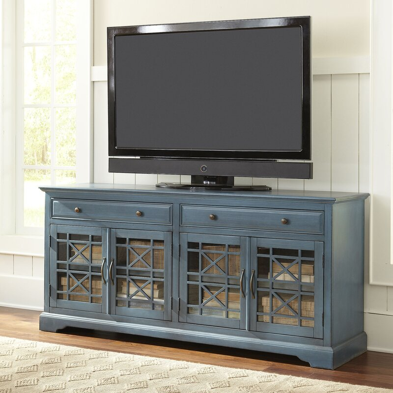 cottage & country tv stands you'll love   wayfair
