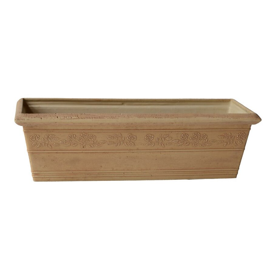 Arcadia garden products psw composite window box planter for Wayfair garden box