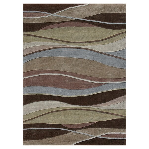 Loloi Rugs Grant Hand Tufted Brown/Blue/Beige Area Rug U0026 Reviews | Wayfair