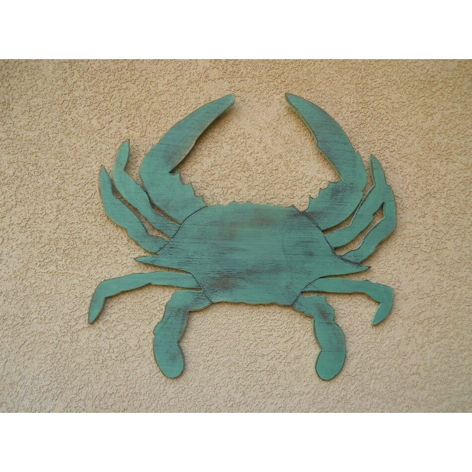 Blue crab wall decor images home wall decoration ideas blue crab wall decor instadecor blue crab wall decor amipublicfo images amipublicfo Images