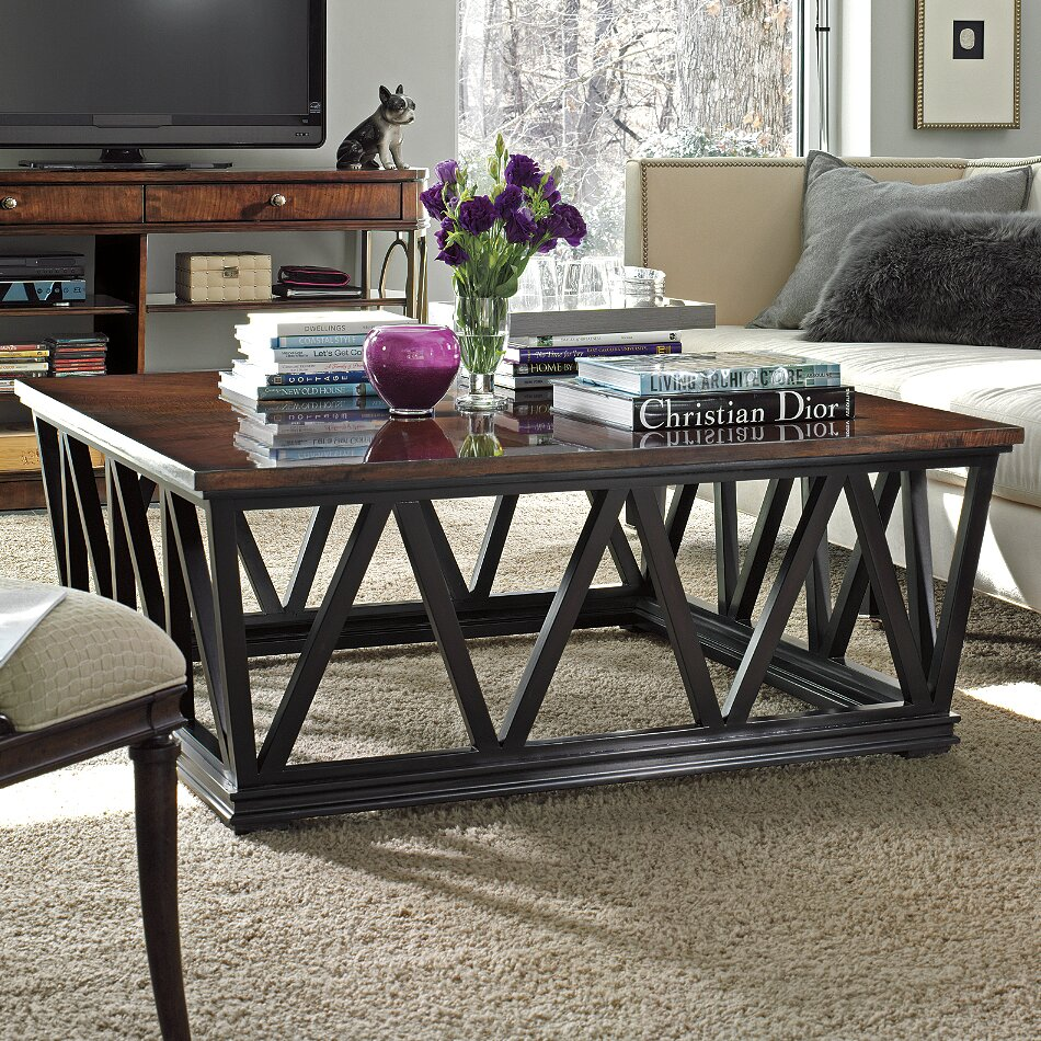 stanley avalon heights empire coffee table reviews wayfair