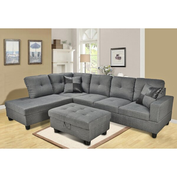 sc 1 st  Wayfair.com : russ sofa bed with chaise - Sectionals, Sofas & Couches