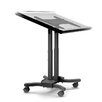 Cotytech Mobile Adjustable Laptop Cart