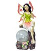 Kingfisher Fairy Giant Solar Light Statue (Set of 2)