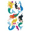 Jillson & Roberts Prismatic Bulk Roll Mermaid Sticker