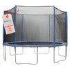 Upper Bounce 305cm Round Trampoline Net using 6 Poles