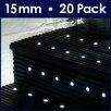 MiniSun 20 Piece LED Deck, Step and Rail Lights Set