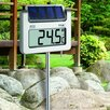 TFA Dostmann Avenue Digital Solar Garden Thermometer