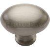 Heritage Brass Oval Knob