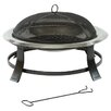 Lifestyle Appliances Prima Steel Wood Fire Pit