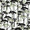 "Marimekko Putkinotko 33' x 27"" Botanical Wallpaper Roll"