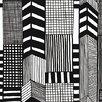 "Marimekko Ruutukaava Geometric 33' x 27"" Wallpaper Roll"