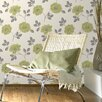 Superfresco Flavia 10m L x 52cm W Floral and Botanical Roll Wallpaper