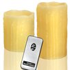 Pharmore Ltd 2 Piece LED Scented Flameless Candles Set