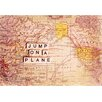 Marmont Hill Jump On a Plane by Sylvia Cook Graphic Art on Canvas