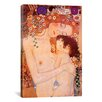 iCanvas 'Mother And Child' by Gustav Klimt Painting Print on Canvas