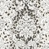 """Brewster Home Fashions Christel Gabriella Ogge Busy Toss 33' x 20.5"""" Damask 3D Embossed Wallpaper"""