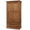 Andover Mills Cabriel 2 Door Wardrobe