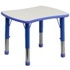 "Flash Furniture 26.63"" x 21.88"" Rectangular Activity Table"