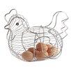 Kitchen Craft Chrome Plated Wire Large Chicken Basket