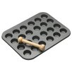 Kitchen Craft Master Class 2 Piece Non-Stick 24 Hole Mini Pan Set