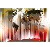 Parvez Taj Monde Graphic Art Wrapped on Canvas